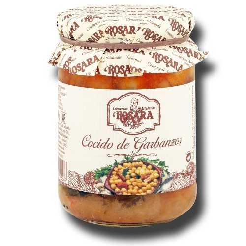 Cocido de Garbanzos Tarro 1/2 KG.