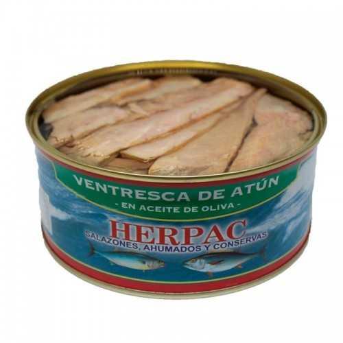 Ventresca de Atún en Aceite de Oliva 1030 Gr.