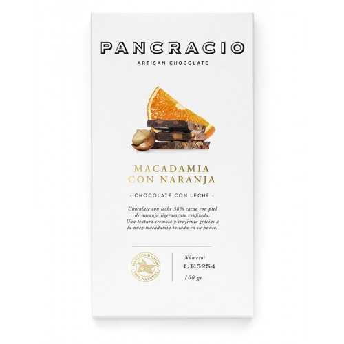 Chocolate Con Leche, Naranja Y Nueces De Macadamia